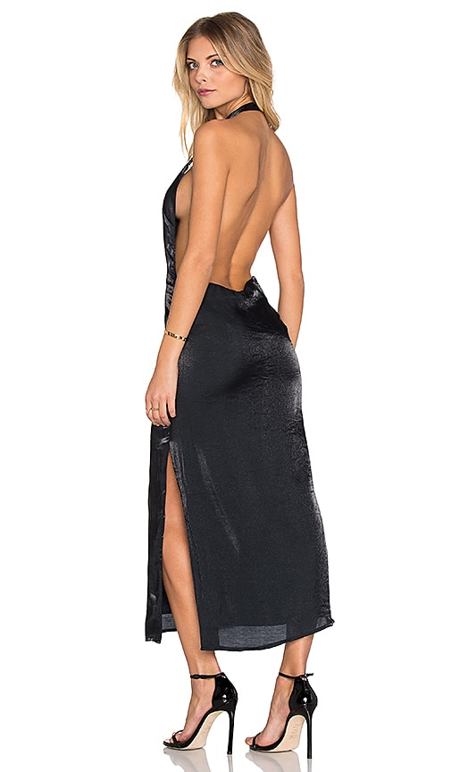 ASILIO The Homecoming Slip Dress in Navy