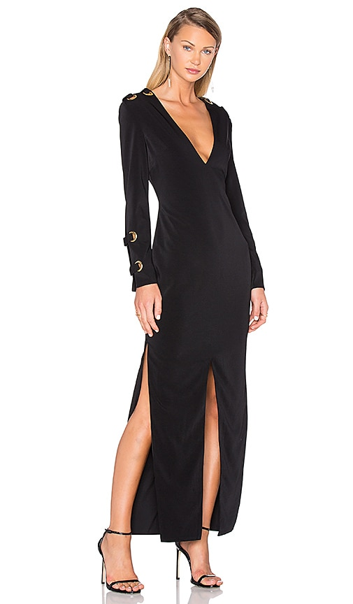 ASILIO Gold Standard Dress in Black