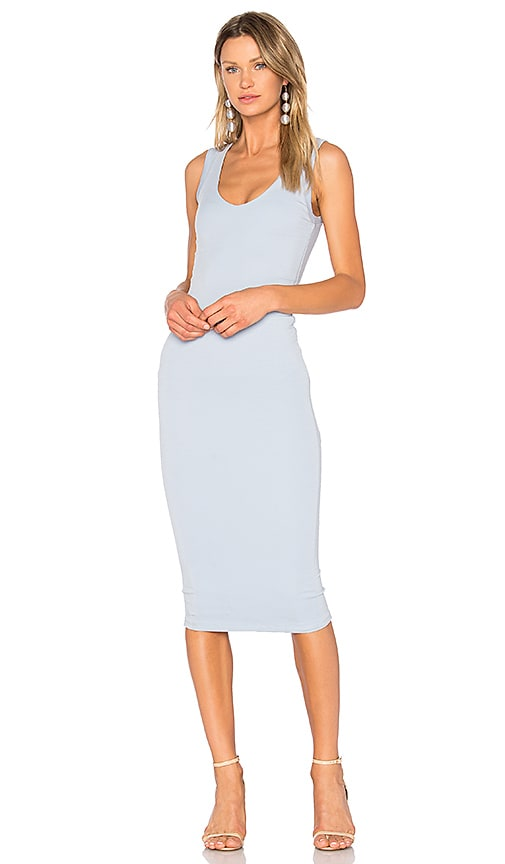 ASILIO Truth Be Told Knit Dress in Baby Blue