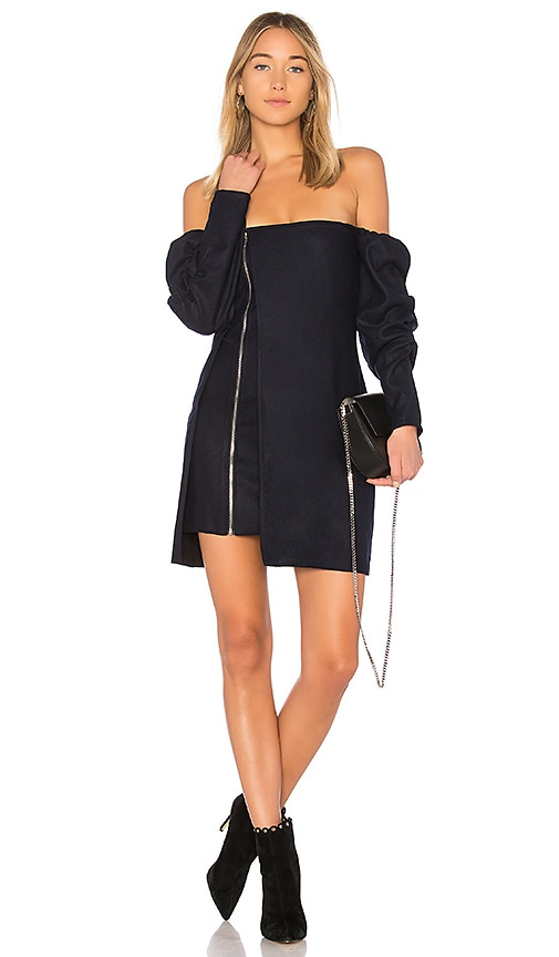 ASILIO Over The Line Dress in Navy