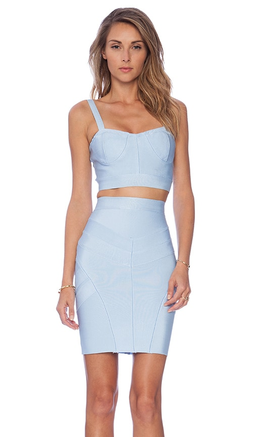 Sky High Top and Skirt Set