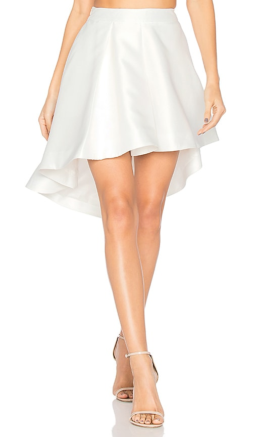 ASILIO Cross the Fader Skirt in White