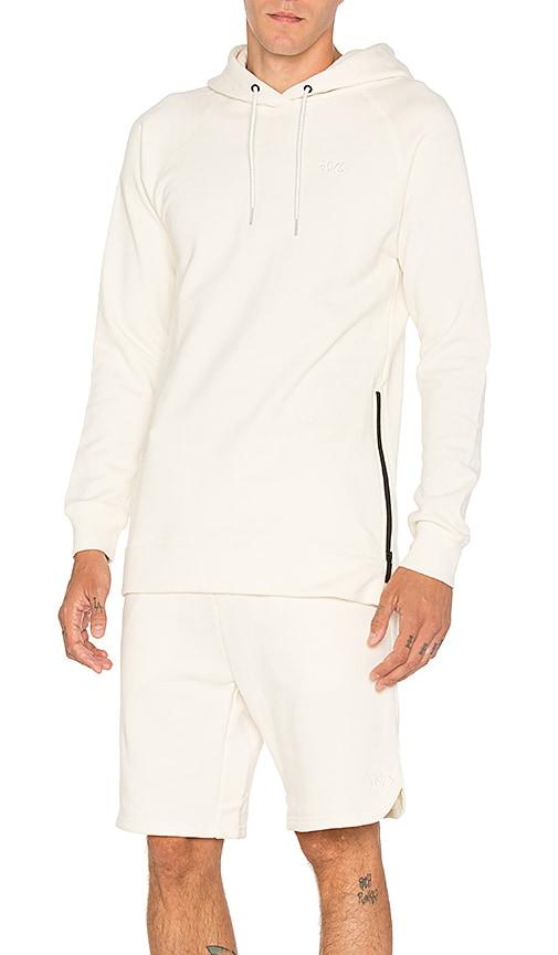 Asics Platinum Classic Pullover Hoodie in Cream
