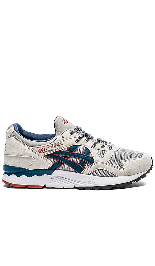 more photos 9b54a eaad3 Asics Platinum Gel Lyte V in Light Grey Legion Blue | REVOLVE