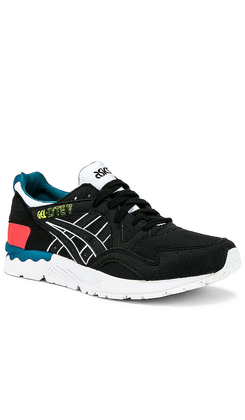 7c3b915fb976 Asics Platinum Asics Gel Lyte V in Black   Black