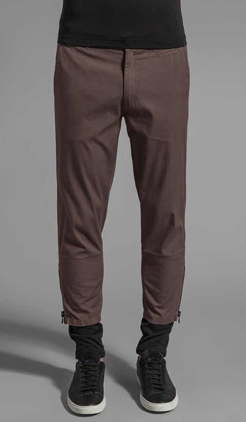 Slim Cotton Pant