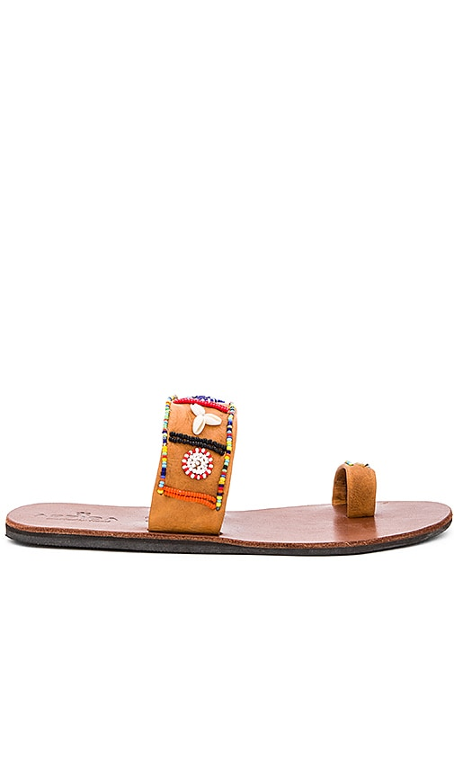 ASPIGA Shella Sandal in Tan