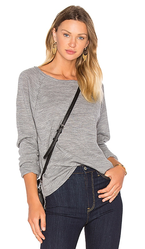 Assembly Label Atlantic Knit Sweater in Gray