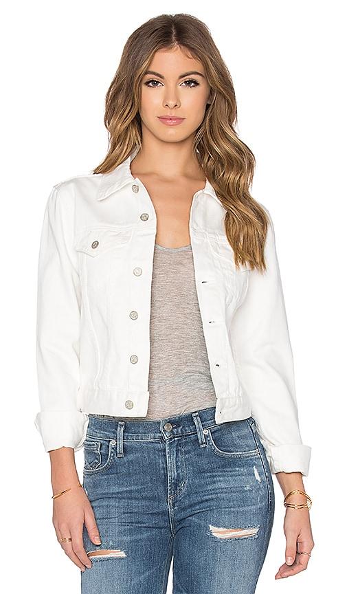 Assembly Label Femme Denim Jacket in White