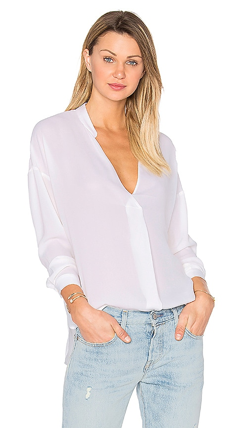 Assembly Label Laila Silk Top in White