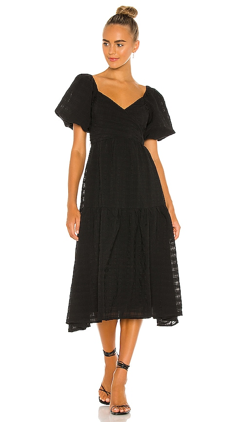 ASTR the Label Sonnet Dress in Black | REVOLVE