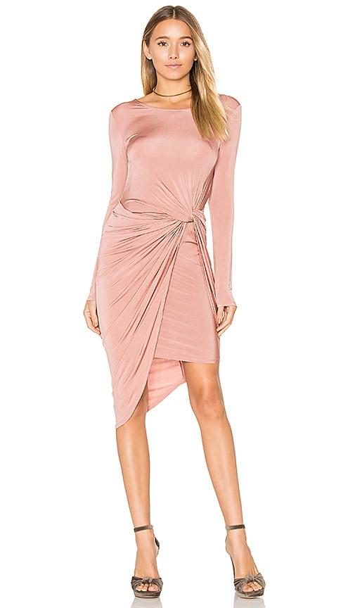ASTR Janice Dress in Blush
