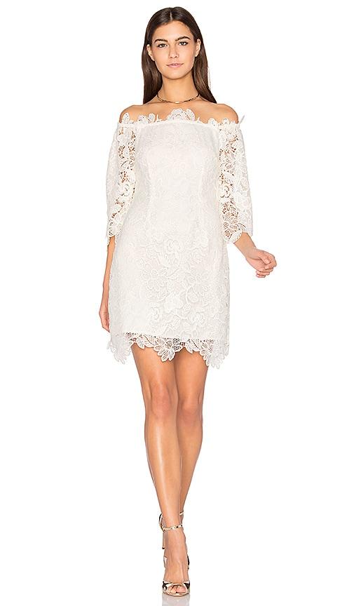 ASTR Madeline Dress in White
