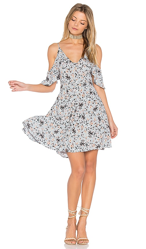 ASTR Gabriella Dress in Slate