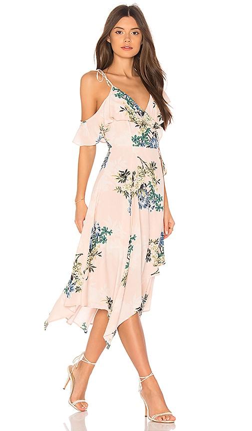 ASTR Yessenia Dress in Blush