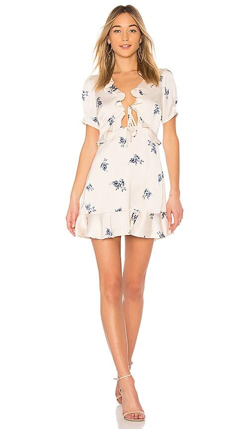 ASTR Billie Dress in Cream