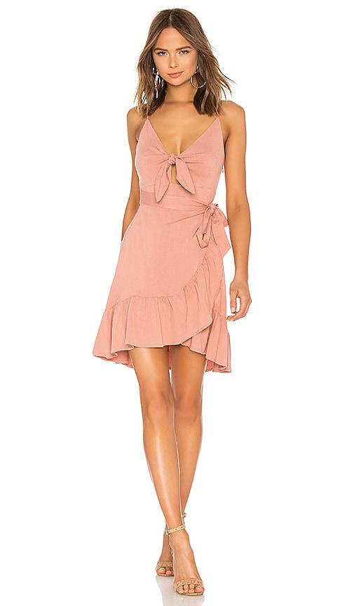 ASTR Sandy Dress in Rose