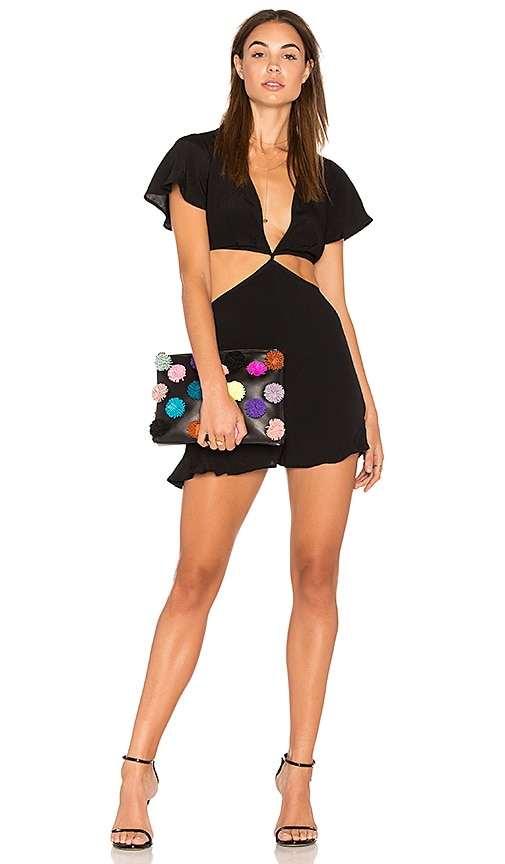ASTR Viviana Romper in Black