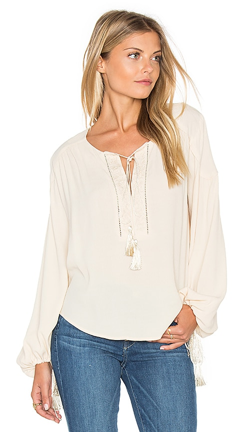 ASTR Ida Blouse in Cream