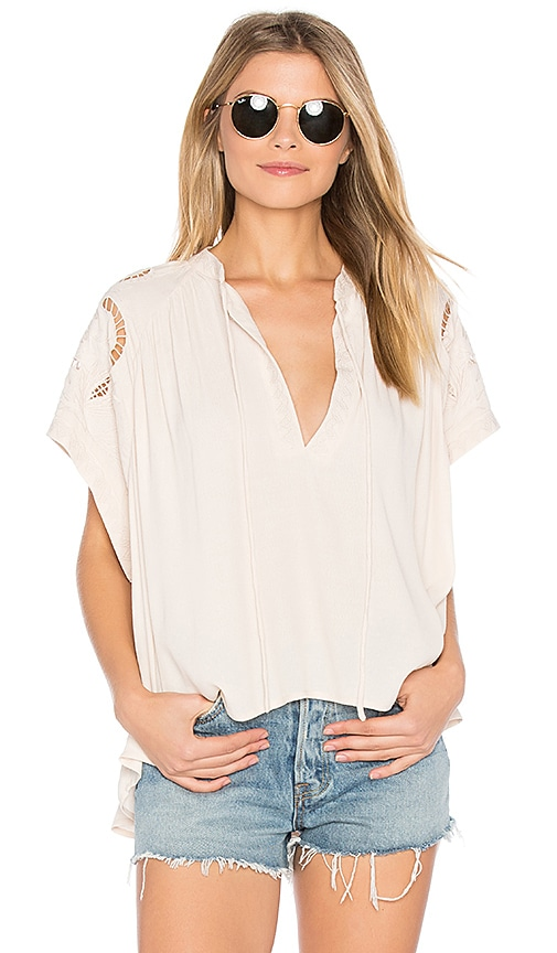 ASTR Aya Top in Ivory