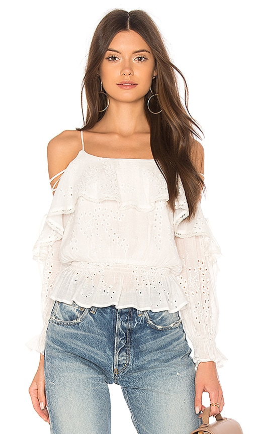 ASTR Kennedy Top in White