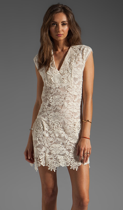 Mixed Lace Dress