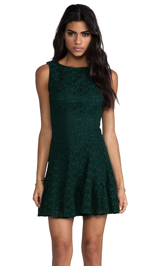 Re-Embroidered Lace Dress