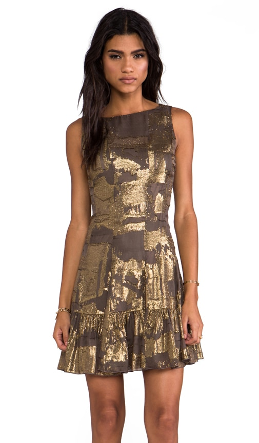 Klimt Print Tank Dress