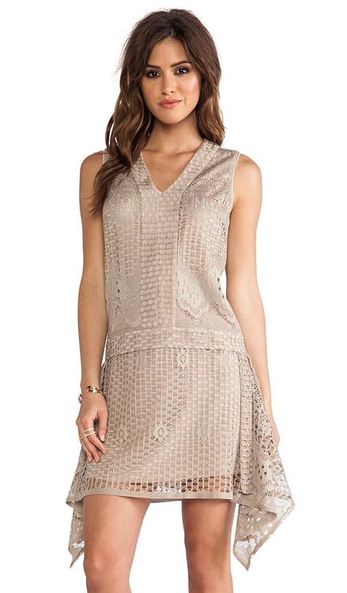 Wild Rose Crochet Lace Dress