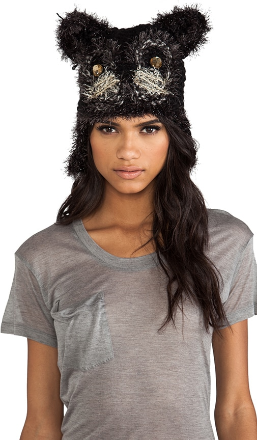 Jeweled Cat Hat
