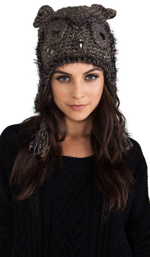 Jeweled Animal Accessories Hat