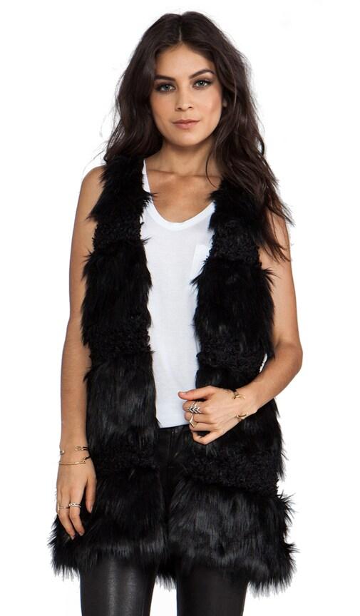 RUNWAY Faux Fur Combo Vest