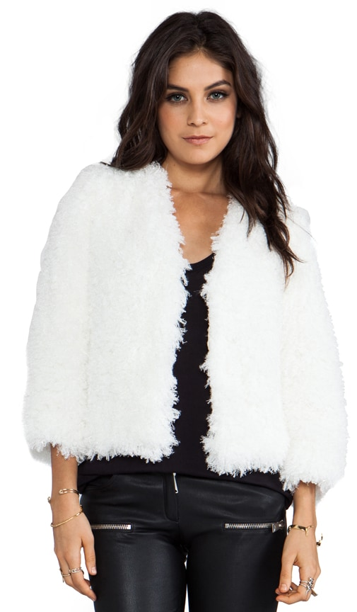 RUNWAY Mongolian Faux Fur Jacket