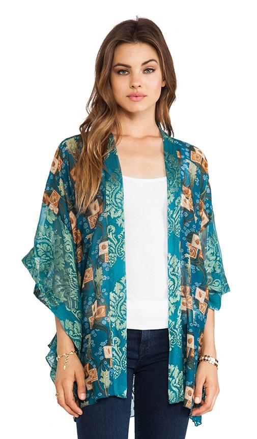 Windermere Print Kimono