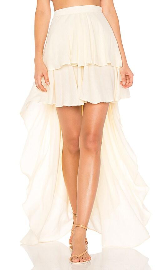 All Things Mochi The Zenga Skirt in Cream