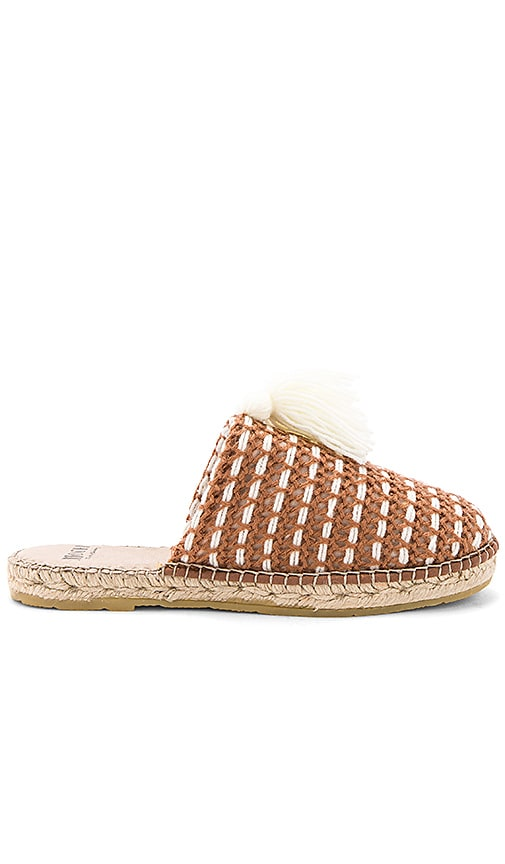 All Things Mochi The Zana Espadrille in Brown