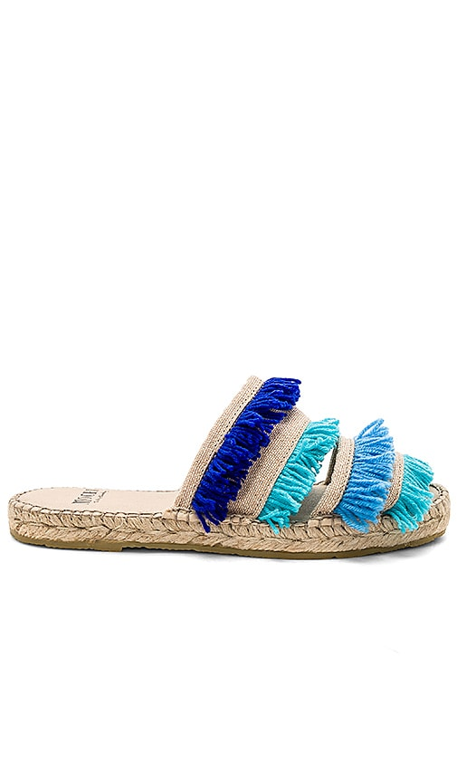 All Things Mochi Saidy Espadrilles in Blue