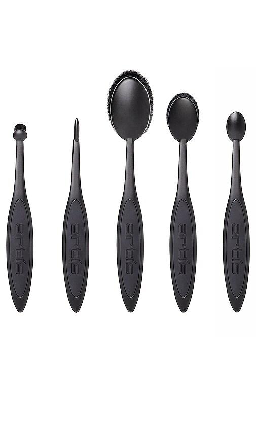 Black Elite 5 Brush Set