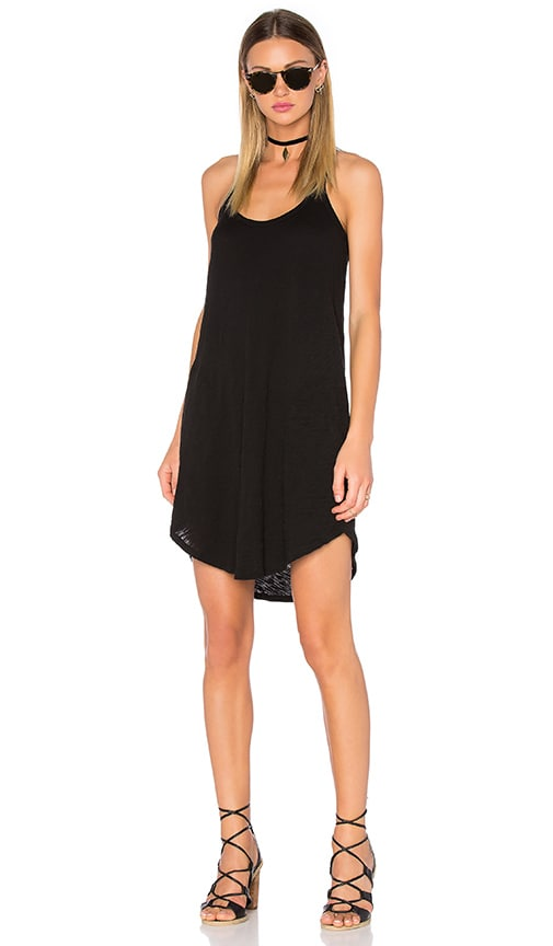 ATM Anthony Thomas Melillo Trapeze Tank Dress in Black