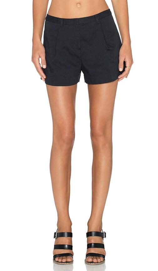 ATM Anthony Thomas Melillo Pleated Shorts in Black