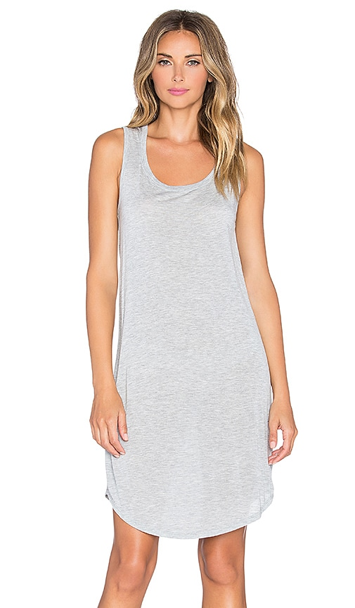 ATM Anthony Thomas Melillo Sweetheart Tank Dress in Heather Grey