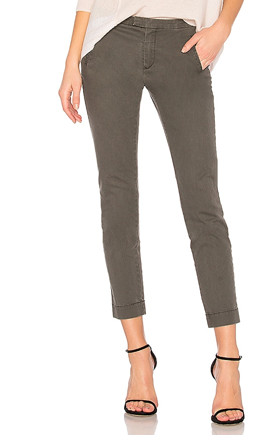 ATM Anthony Thomas Melillo Enzyme Wash Slim Pant in Green