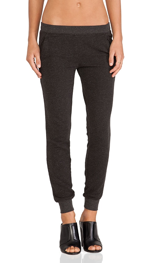 ATM Anthony Thomas Melillo Slim Sweat Pant in Charcoal