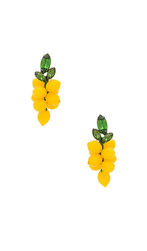Auden Limoncello Earrings in Yellow