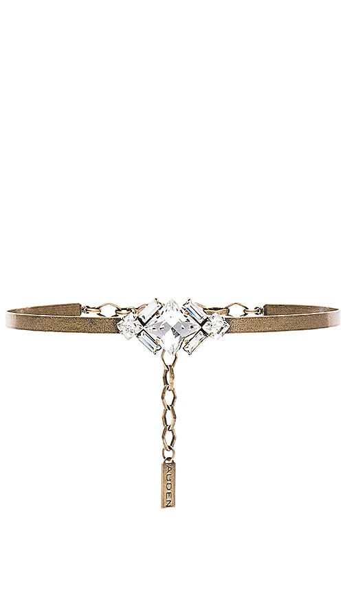Auden Harlow Choker in Metallic Bronze