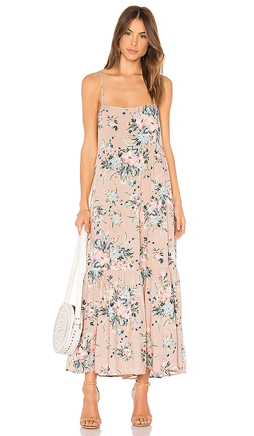 AUGUSTE Scarlett Slip Maxi Dress in Pink