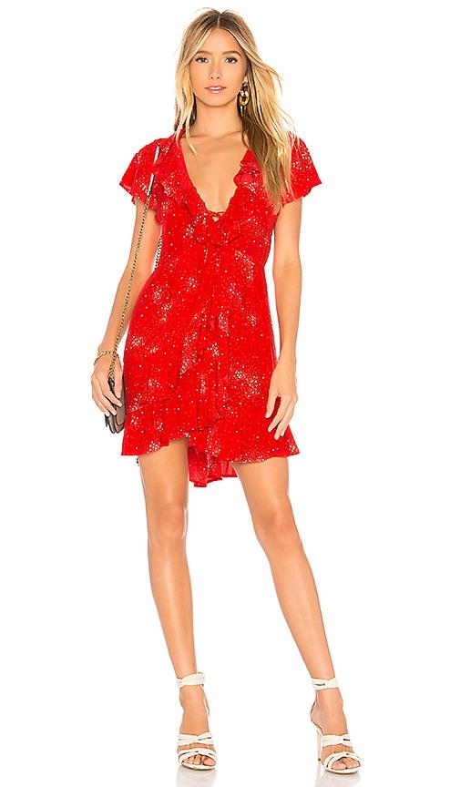 Celestial Grace Mini Dress