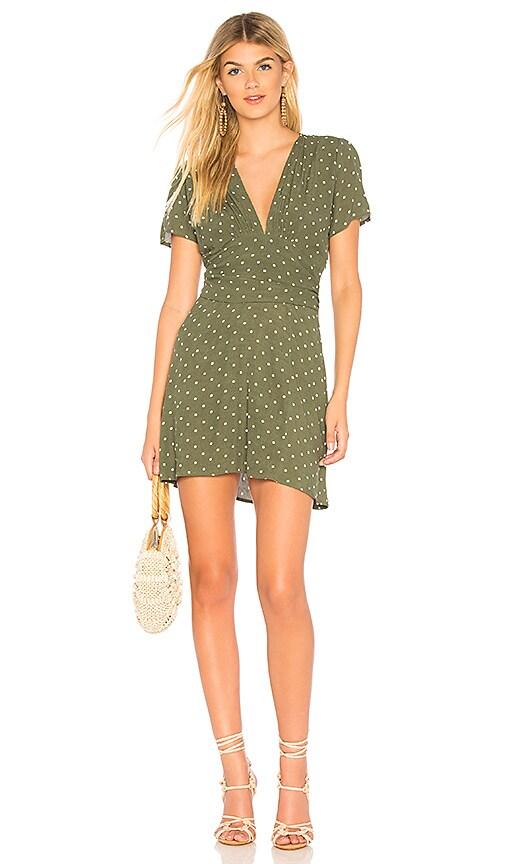 Polly Goldie Mini Dress