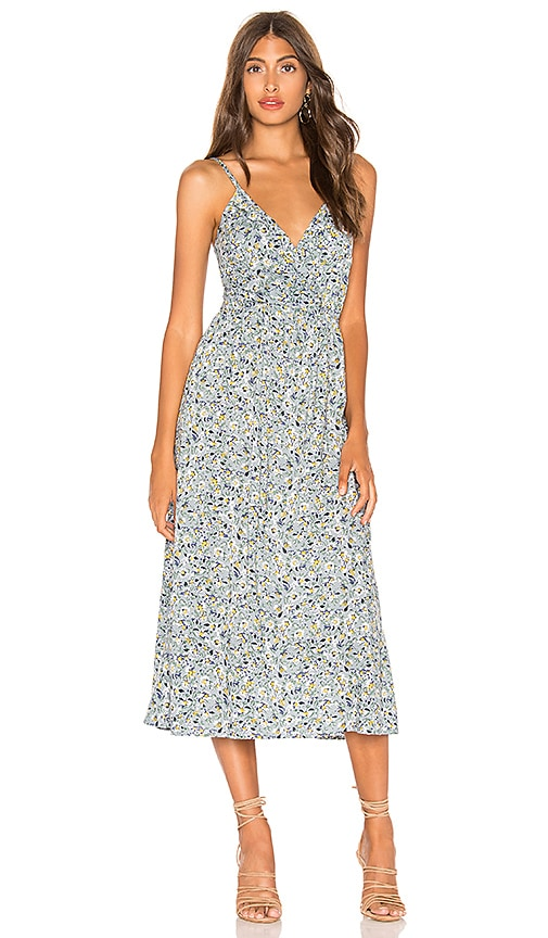 utterly stylish most popular arriving AUGUSTE Daisy Amore Midi Dress in Blue | REVOLVE