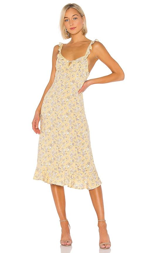 X REVOLVE Olsen Love Midi Dress